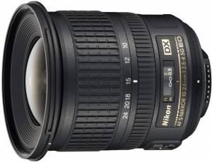 Nikon AF-S DX NIKKOR 10-24mm f/3.5-4.5G zoom lens