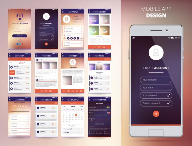 طراحی اپلیکیشن-پویا ارت